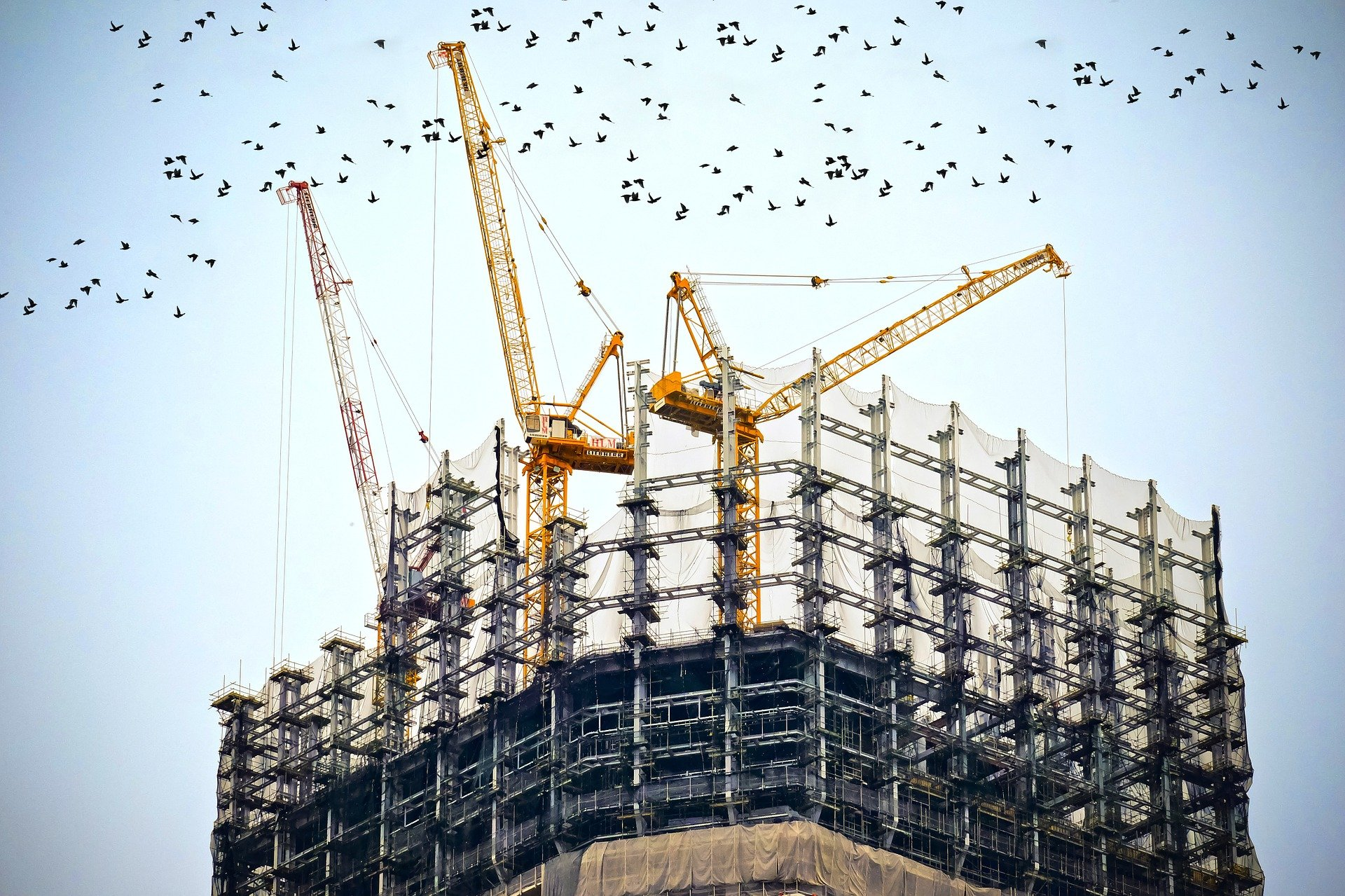 Bauarbeiter aus Slowakei